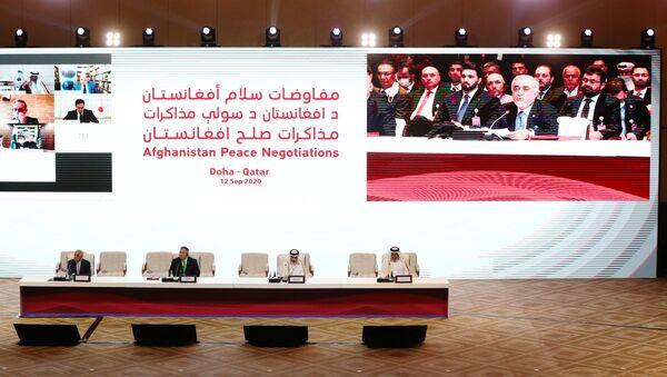 Переговоры между правительством Афганистана и движением Талибан (запрещено в РФ) в Катаре - Sputnik Тоҷикистон