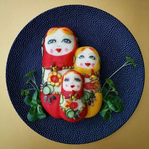 Кулинарное произведение Йоланды Стоккерманс из Бельгии - Sputnik Таджикистан