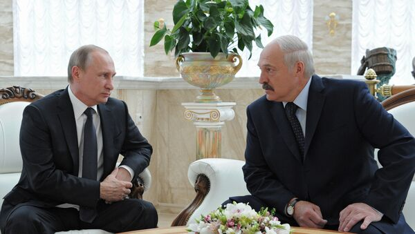 Визит президента РФ В. Путина в Беларусь - Sputnik Таджикистан