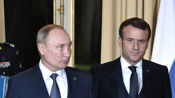 Рабочий визит президента РФ В. Путина во Францию  - Sputnik Таджикистан