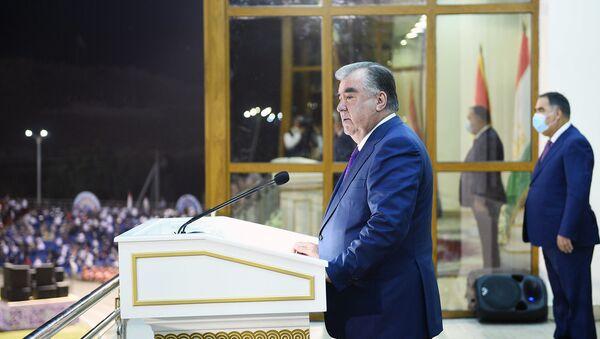Эмомали Рахмон - Sputnik Таджикистан