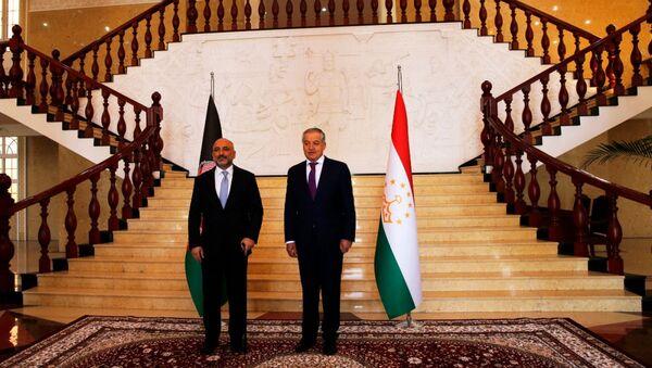 Встреча главы МИД Таджикистана Сироджиддина Мухриддина и и. о. главы МИД Ханифа Атмара - Sputnik Таджикистан