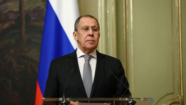 Переговоры глав МИД РФ и Казахстана С. Лаврова и М. Тлеуберди - Sputnik Таджикистан