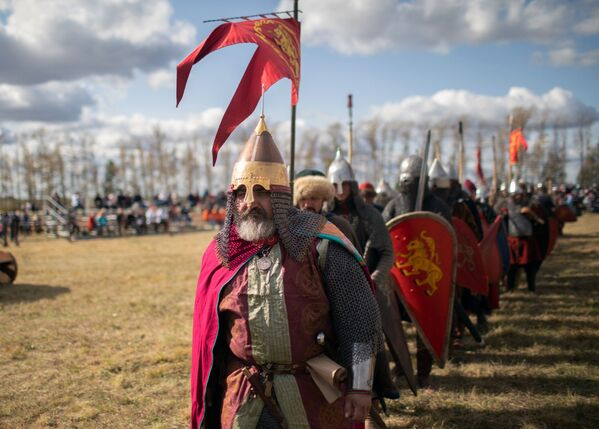 Празднование 640-й годовщины Куликовской битвы - Sputnik Таджикистан