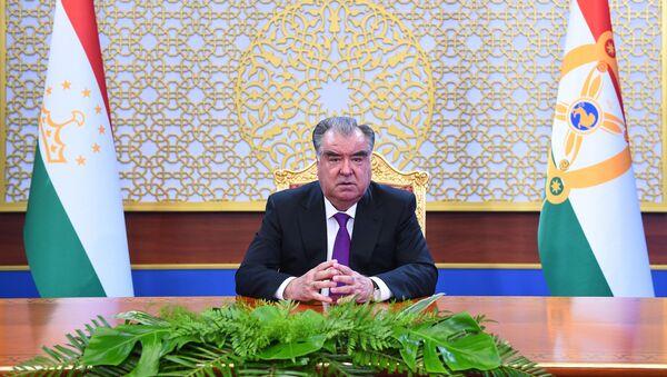 Выступление Эмомали Рахмона, посвященное 75–летию образования ООН - Sputnik Таджикистан