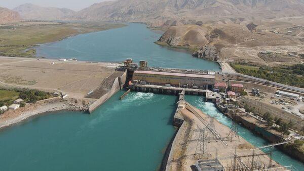 Ввод в эксплуатацию Сарбандской ГЭС в Леваканте - Sputnik Таджикистан