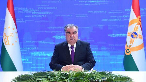 Президент Таджикистана Эмомали Рахмон - Sputnik Таджикистан