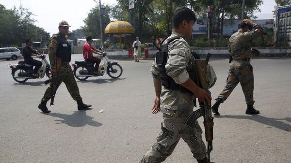 Полиция в городе Кабул - Sputnik Таджикистан