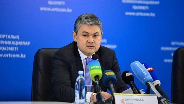 Чрезвычайный и Полномочный посол Казахстана в РоссииЕрмек Кошербаев - Sputnik Таджикистан