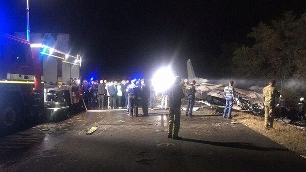 Крушение самолета Ан-26 под Харьковом - Sputnik Таджикистан