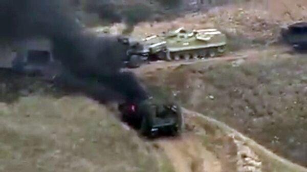 Боевые действия в Нагорном Карабахе - Sputnik Таджикистан