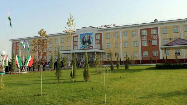 Торжественное открытие здания средней школы № 33 в Спитаменском районе - Sputnik Таджикистан