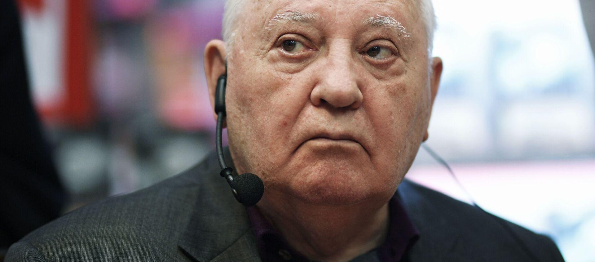Экс-президент СССР Михаил Горбачев - Sputnik Таджикистан, 1920, 29.09.2020