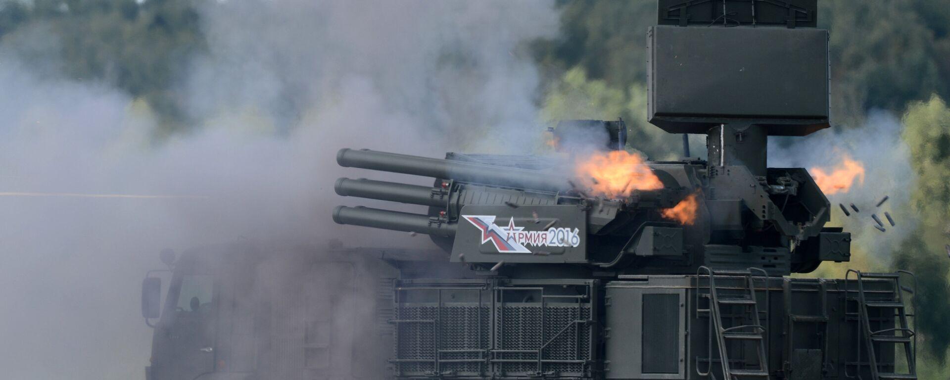 Зенитный ракетно-пушечный комплекс 96К6 Панцирь-С1 - Sputnik Таджикистан, 1920, 01.10.2020