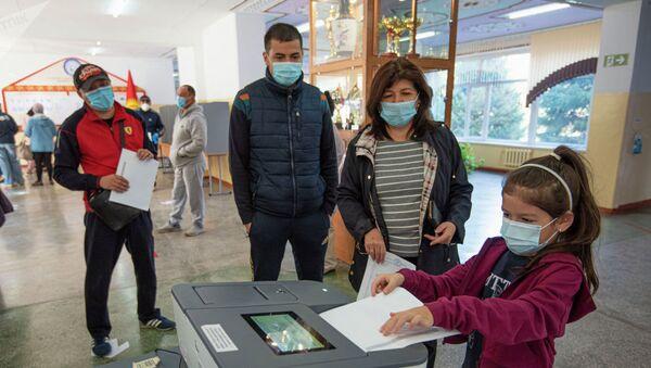 Выборы в Кыргызстане - Sputnik Таджикистан