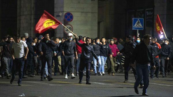 Акция протеста в Бишкеке - Sputnik Таджикистан