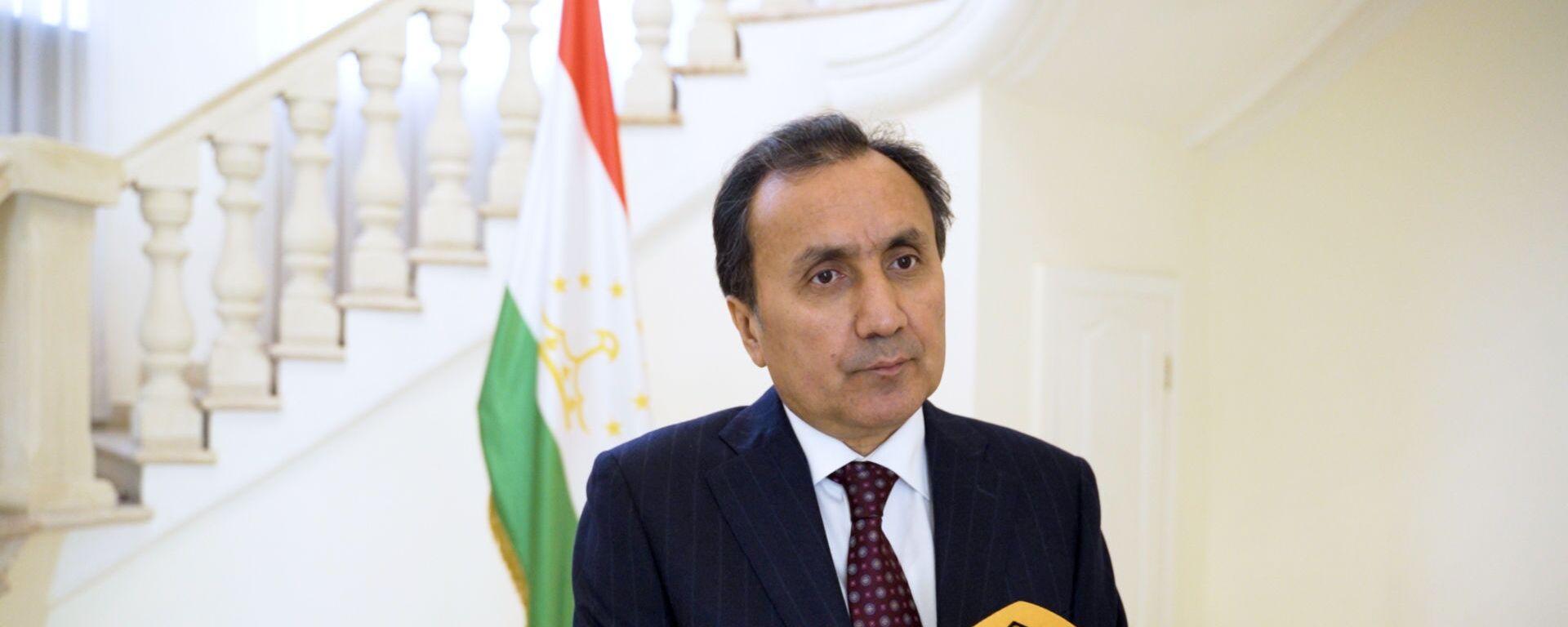 Посол Республики Таджикистан в РФ Имомуддин Сатторов - Sputnik Тоҷикистон, 1920, 15.06.2021