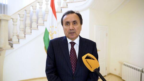 Посол Республики Таджикистан в РФ Имомуддин Сатторов - Sputnik Тоҷикистон