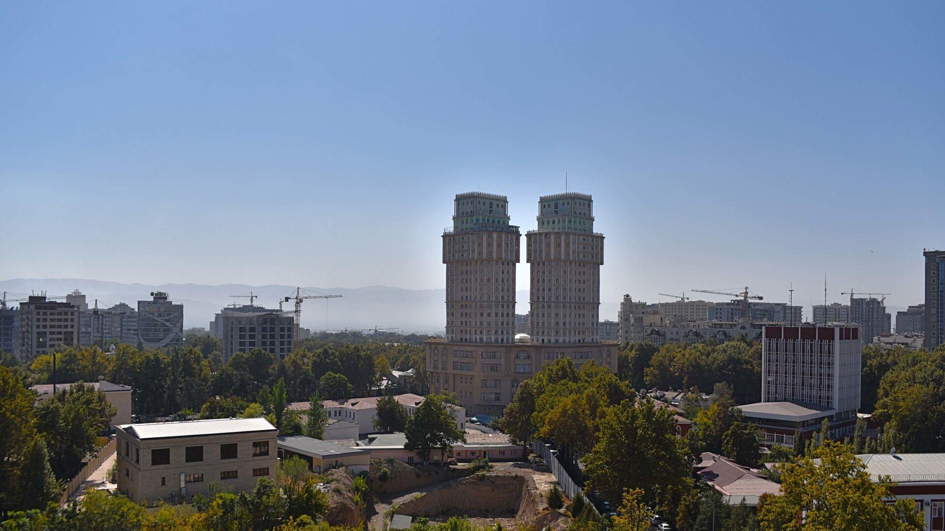 Город Душанбе - Sputnik Тоҷикистон, 1920, 13.10.2021