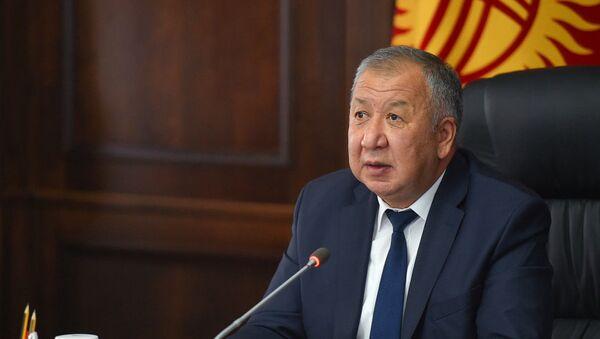 Премьер-министр Кубатбек Боронов - Sputnik Таджикистан