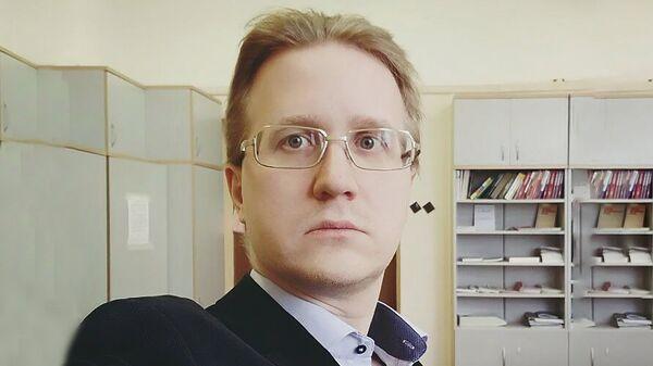 Ведущий эксперт Фонда Национальной энергетической безопасности, эксперт Финансового университета при правительстве РФ Станислав Митрахович - Sputnik Таджикистан