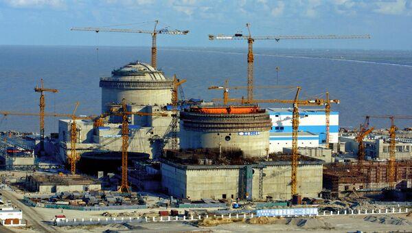 Тяньваньская АЭС в китайском городе Ляньюнган - Sputnik Таджикистан