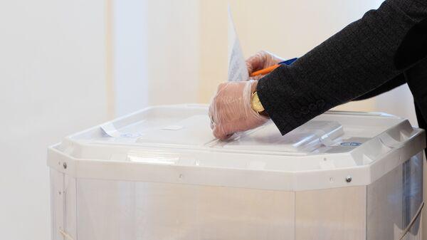 Выборы президента в посольстве Таджикистана в Москве - Sputnik Таджикистан