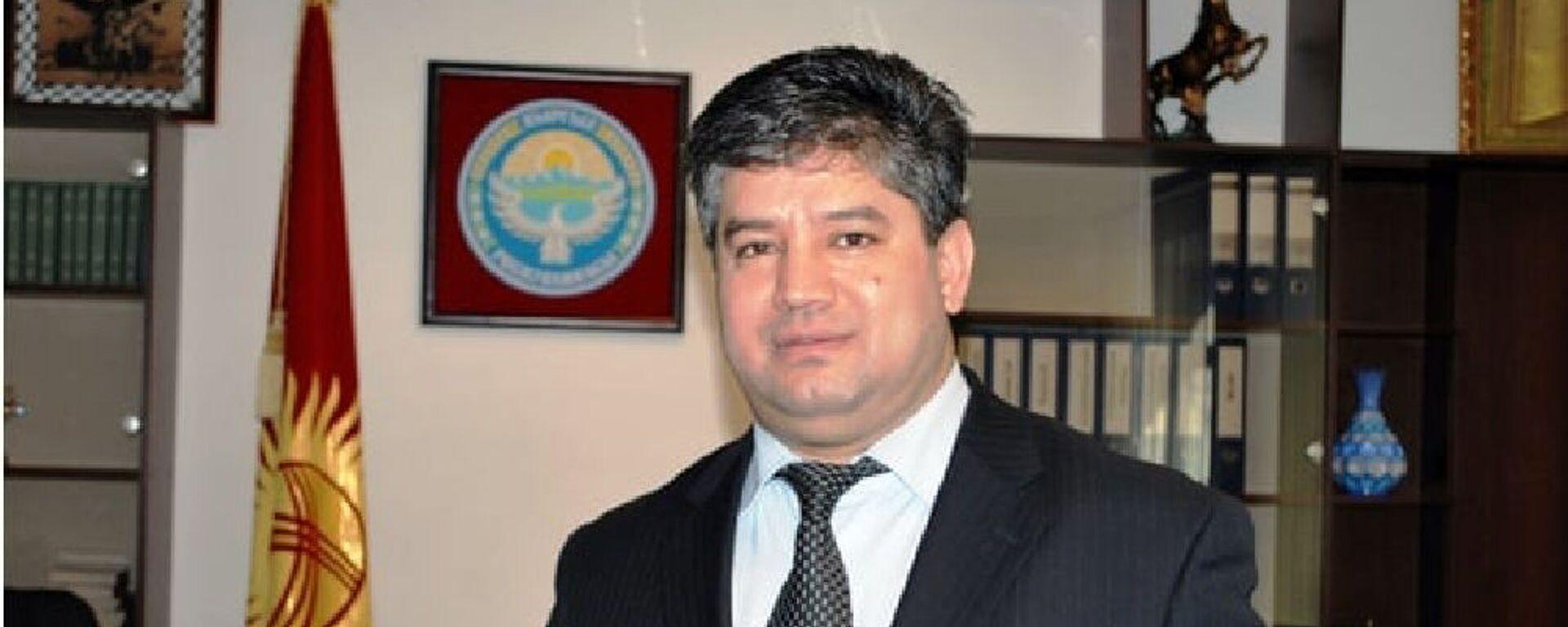 Равшанбек Сабиров, новый вице-премьера Киргизии - Sputnik Тоҷикистон, 1920, 12.10.2021