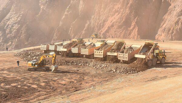Строительство Рогунской ГЭС в Таджикистане - Sputnik Таджикистан