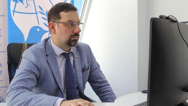 Исполняющий обязанности руководителя Представительства Россотрудничества в Таджикистане Иванов Иван Сергеевич  - Sputnik Таджикистан