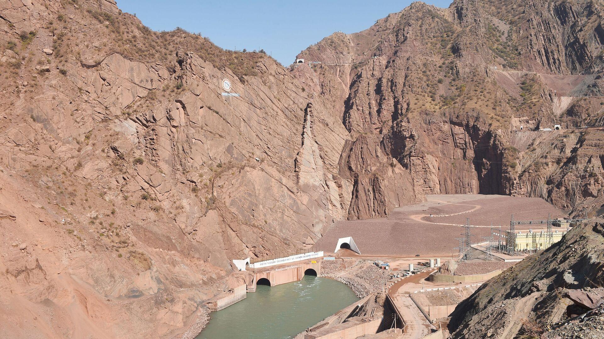 Рогунская ГЭС - Sputnik Таджикистан, 1920, 05.08.2021