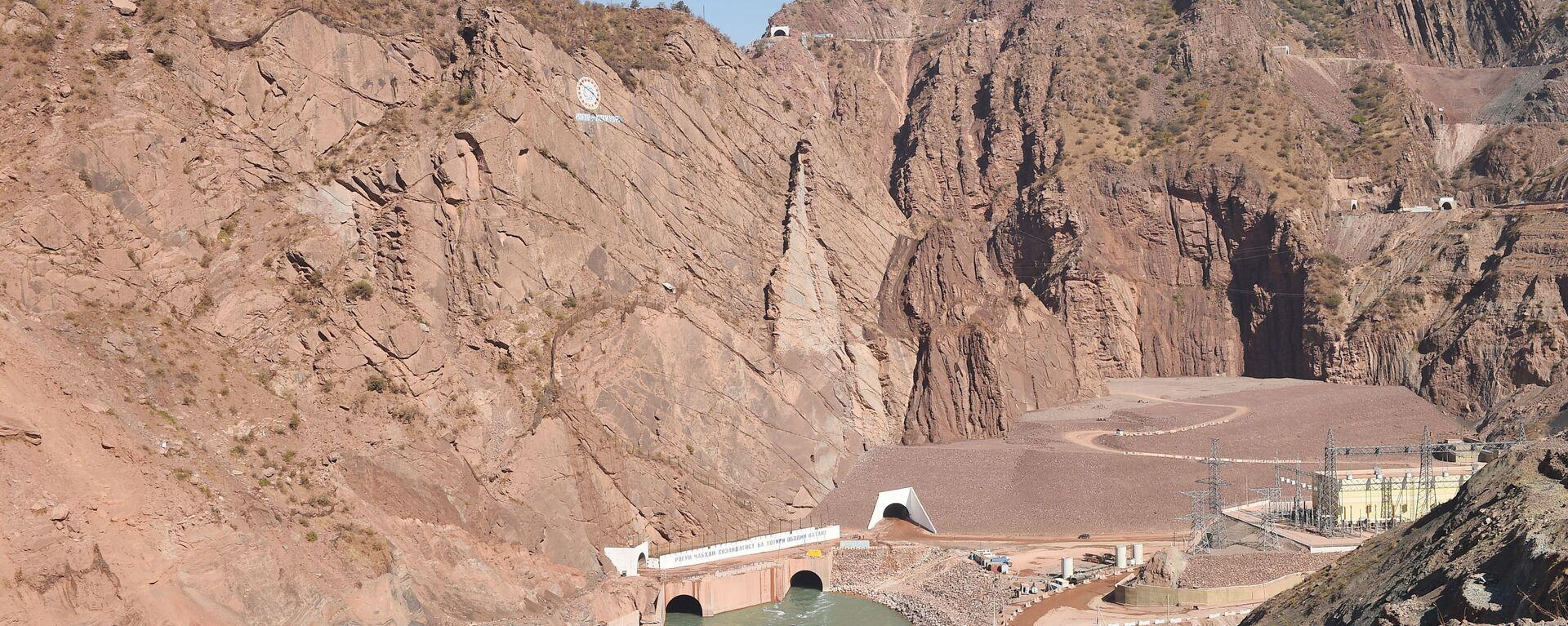 Рогунская ГЭС - Sputnik Таджикистан, 1920, 26.05.2021