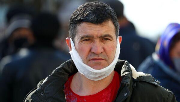 Очереди мигрантов в УФМС - Sputnik Таджикистан