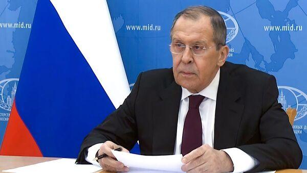 Лавров призвал ООН не допустить обострения ситуации в Персидском заливе - YouTube - Sputnik Таджикистан