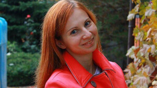 Старший аналитик АльпарИ Анна Бодрова - Sputnik Таджикистан