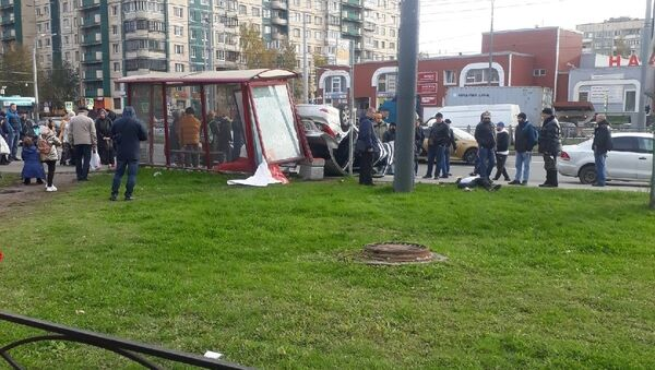 ДТП в Санкт-Петербурге, на проспекте Косыгина - Sputnik Таджикистан
