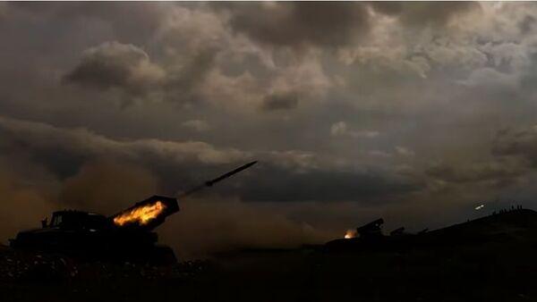 Огонь-видео: российские военные отбились от противника в горах Таджикистана - Sputnik Тоҷикистон
