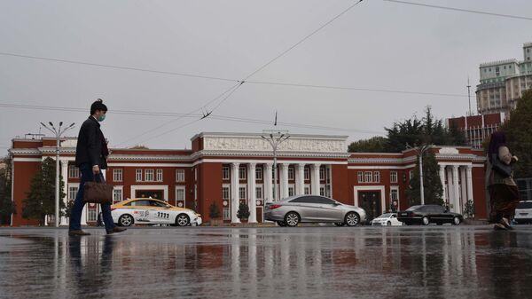 Площадь Сомони в Душанбе - Sputnik Тоҷикистон