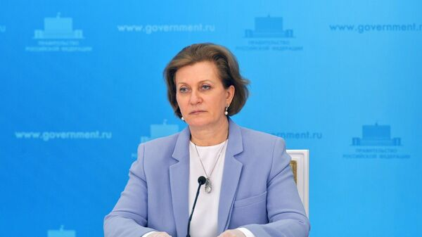 Главный государственный санитарный врач РФ Анна Попова - Sputnik Тоҷикистон