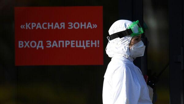 Ситуация с коронавирусом в городах России - Sputnik Тоҷикистон