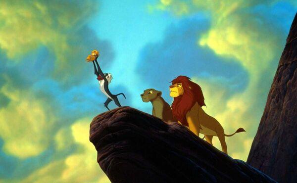 Кадр из анимационного фильма Король Лев - Sputnik Таджикистан