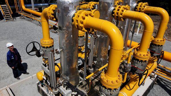 Строительство участка газопровода Сахалин-Хабаровск-Владивосток - Sputnik Таджикистан