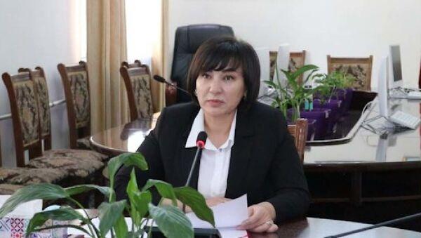 Зулфия Абдусаматзода - зам министра здравохранения - Sputnik Тоҷикистон
