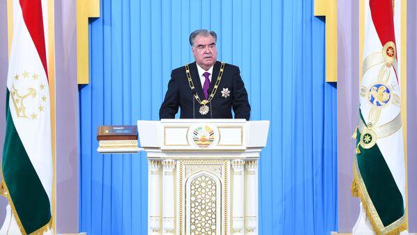 Инаугурация президента Таджикистана - Sputnik Тоҷикистон