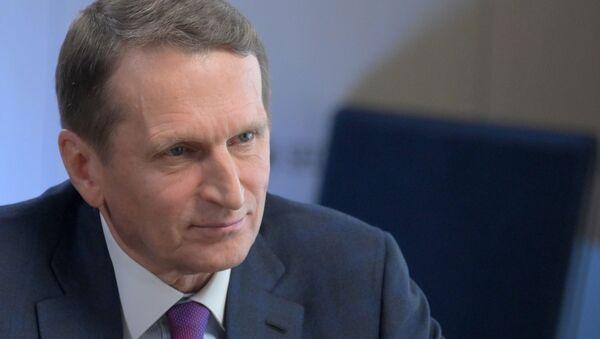 Нарышкин: на территории стран НАТО обсуждали как оживить протестное движение в России - Sputnik Таджикистан