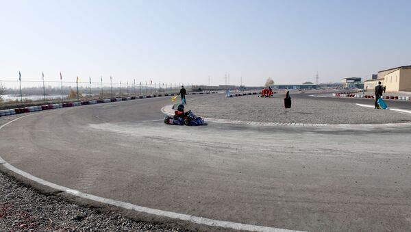Со скоростью ветра: в Намангане стартовал чемпионат Узбекистана по картингу - Sputnik Таджикистан