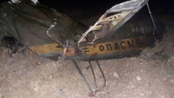 Российский вертолет Ми-24 потерпел крушение в Армении - Sputnik Таджикистан
