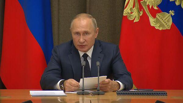 Путин рассказал, в каких случаях Россия может использовать ядерное оружие - YouTube - Sputnik Тоҷикистон