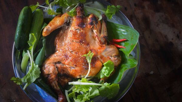 Цыпленок табака - Sputnik Таджикистан