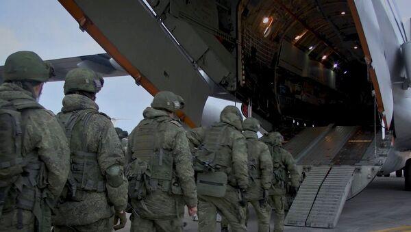 Отправка миротворцев в Нагорный Карабах - Sputnik Тоҷикистон